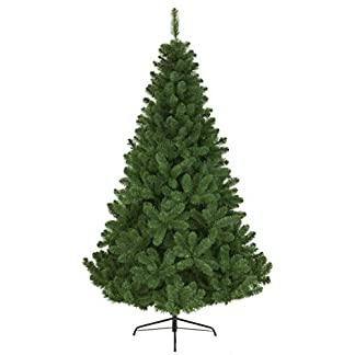 Kaemingk 680311 – Árbol de Navidad Artificial, PVC, 150cm, Color Verde