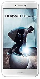 Huawei P8 Lite version 2017 Smartphone débloqué 4G (Ecran: 5,2 pouces - 16 Go - Double Nano-SIM - Android 7.0 Nougat) Blanc