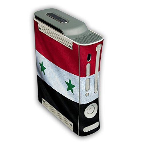 """Microsoft Xbox 360 Designfolie """"Syrien Flagge"""" Skin Aufkleber für Xbox 360"""