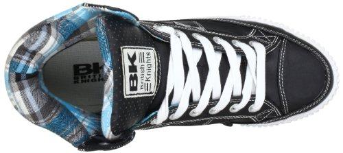 British Knights ATOLL CALI B31-3713CA, Sneaker uomo Nero (Schwarz (black/blue 12))