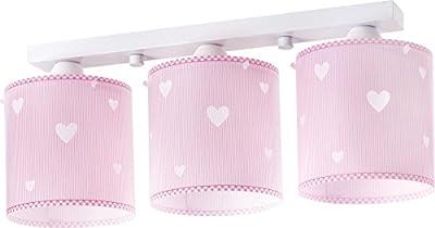 Herz Deckenlampe 62013s rosa Lampe Kinderzimmer Leuchte Kinderzimmerlampe