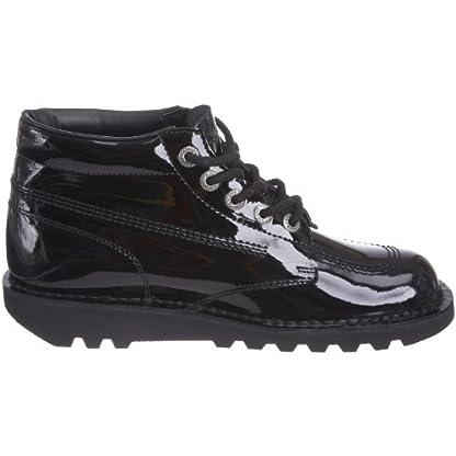 Kickers Women's Kick Hi' Ankle Boots, Black (Black Patent), 8 UK 7