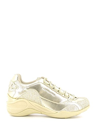 Fornarina PIFSE6432WMA9000 Sneakers Femme SPECIAL GOLD METALLIC