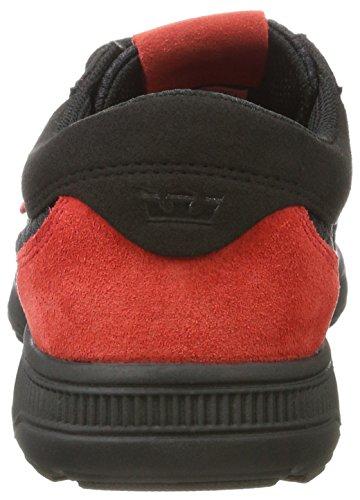 Supra Herren Hammer Run Sneaker Schwarz (nero Rischio Rosso)