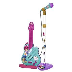 Shimmer & Shine- Shimmer&Shine Micrófono y Guitarra, 21 x 30 cm (Claudio Reig 3510)