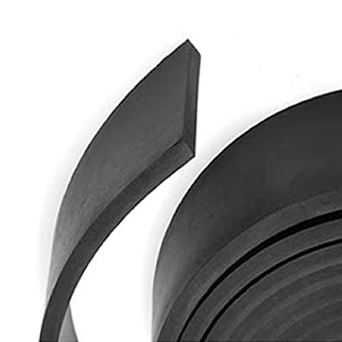 Delta Rubber Limited Solid Neoprene Rubber Strip - Huge Range Of Width And Thickness Available In 5m Lengths,