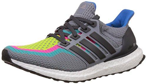 adidas Ultra Boost M, Zapatillas de Running para Hombre, Verde (Gris/Grpudg / Verimp), 41 1/3 EU
