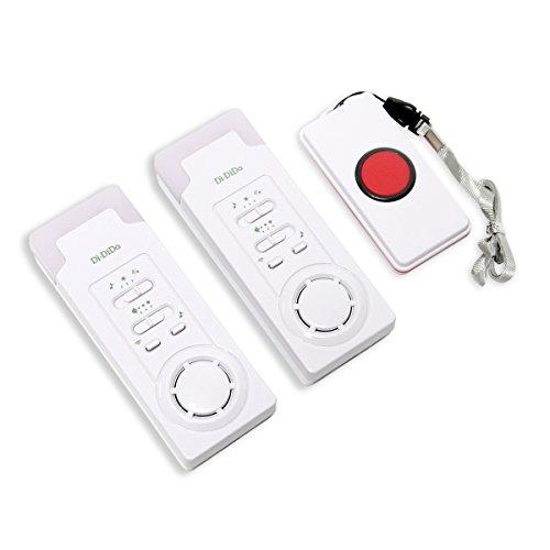 Signstek–cuidador inalámbrico inteligente Timbre con botón de llamada, Personal sistema de alerta para personas mayores/niños/paciente/Los Discapacitados/Las mujeres embarazadas