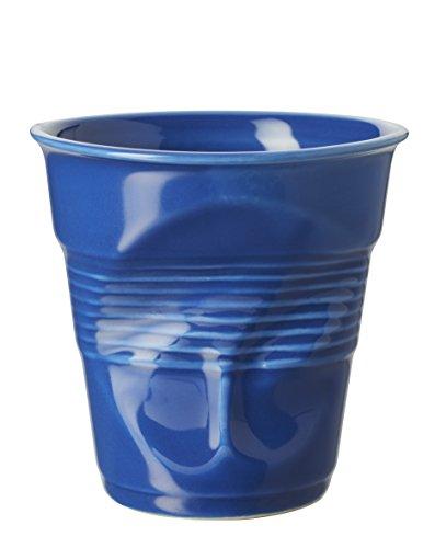 REVOL 647697 GOBELET Cappuccino, Porcelaine, Bleu K