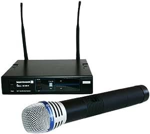Beyerdynamic Opus 669 Kit microphone sans fil UHF, avec batterie, pince et étui de transport