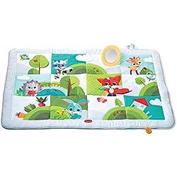 Manta de juegos gigante para bebés, 8 actividades para el desarrollo, desde el nacimiento, 150x100x 4 cm, multicolor