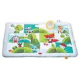 Tiny Love Meadow Days - Manta de juegos gigante para bebés, 8 actividades para el desarrollo, desde el nacimiento, 150x100x 4 cm, multicolor
