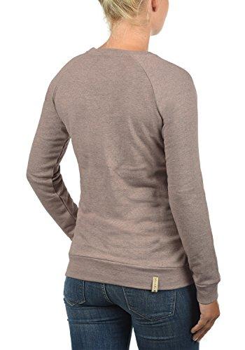 Blend She Kim Damen Sweatshirt Pullover Sweater Mit Rundhalsausschnitt, Größe:S, Farbe:Misty Rose Melange (20204) - 3