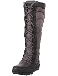 Timberland Crystl MT Tall Black/Grey 17680 - Botas de Nailon para Mujer