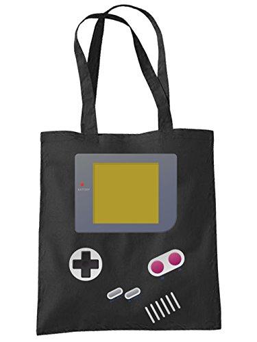 clothinx Einkaufstasche Handheld Schwarz -