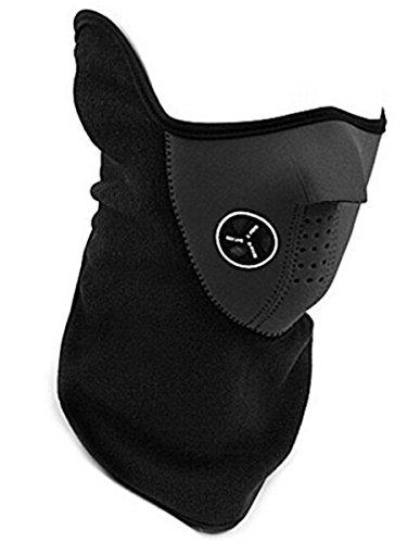 Fahrrad Motorrad Ski Snowboard Neck Warm Face Mask Sport Gesichtsschutz Maske für Hals / Gesicht, Motorradmaske, Skimaske Warm Face Mask (Black)