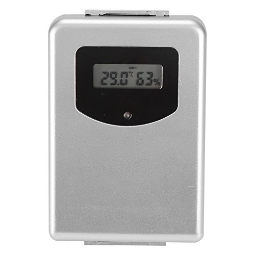 Aramox Thermometer Sensor,Wetterstation Remote Sensor In/Outdoor Wireless Remote Sensor -