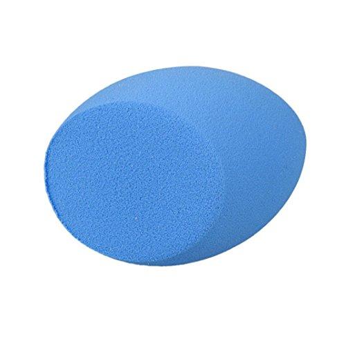 Ouneed® ovoïde beauté douce Maquillage éponge (bleu)