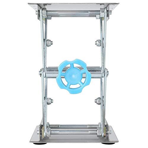 Redxiao Laborhebebühne, manuell einstellbares Laborständer-Tisch-Experimentierwerkzeug aus Edelstahl für physikalisch-chemische biologische Experimente