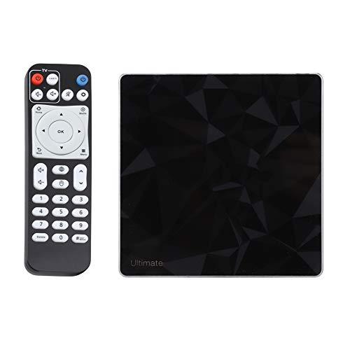 4K Digital Converter Box, für Android 7.1, für analoges Fernsehen, 5G WIFI, Multimedia-Wiedergabe HD-TV-Set-Top-Box, 3 GB RAM, 32 GB ROM, schnell und stabil, einfache Installation, S912(EU Plug) Avi Mpg Converter