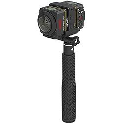 Kodak Pixpro DVC-SP360 4K-BK5 DUAL PRO PACK Camescopes Caméra de Sport 12.8 Mpix
