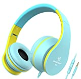 Sound Intone I68 faltbarer On-Ear Kopfhörer Headset