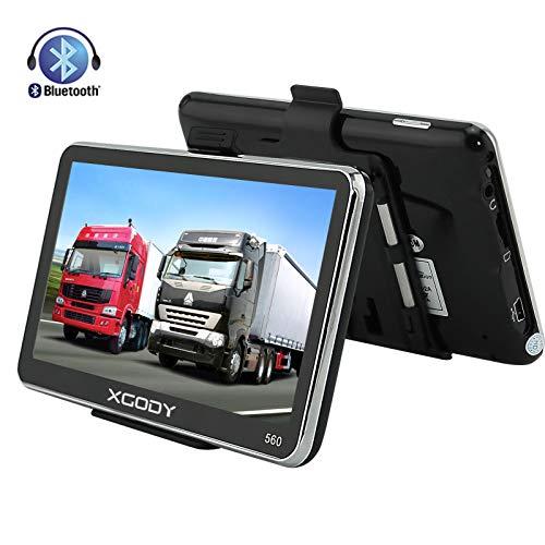 Xgody 560 - Navegador portátil Coche Bluetooth, GPS