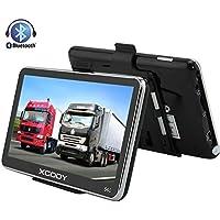 Xgody 560 - Navegador portátil para Coche con Bluetooth, GPS de 5 Pulgadas, Pantalla