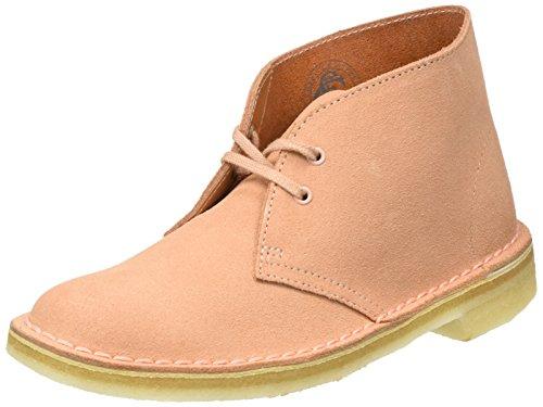 Clarks Originals Boot, Stivali Desert Boots Donna, Rosa (Dusty Pink Suede), 39.5 (Scarpe Clarks Donna)
