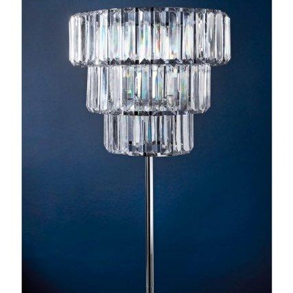 Delex® 154 x 32cm Florence Chandelier Stylish Floor Lamp