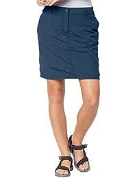 Jack Wolfskin Jupe Kalahari Skort Protection UV Outdoor Voyage Loisirs Pantalon Femme