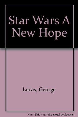 Star Wars: A New Hope Cover Image