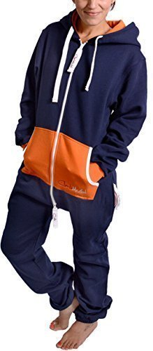 the-classic-unisex-onesie-in-inky-blue-and-orange-s