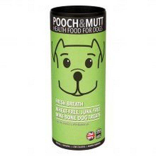 Pooch & Mutt Fresh Breath Mini-Hundekekse (125 g) (Mehrfarbig)