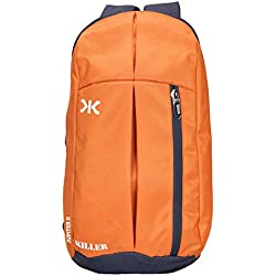 Killer Jupiter Orange Small Outdoor Mini Backpack 12L Daypack