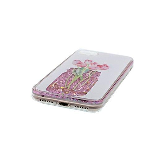 iPhone 6s Custodia- fiore, morbido gel TPU resistente agli urti anti-graffi Case Cover di cartone animato Copertura per iPhone 6 / 6S (4,7 INCH) (solo custodia) # 2