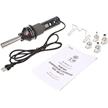 A0127 220V 450°C 450W LCD Lötstation Heißluftpistole ICs SMD Entlötung para ...