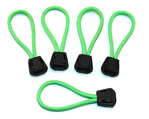 véritable nous 550 firecord tirettes de fermeture éclair X5 Safety Green