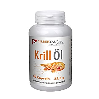 Krillöl 30 Softgels - Omega-3 Kapseln Fettsäuren - Hochdosiert