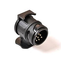 Myhonour Adapter für PKW und Anhänger 13 Polig auf 7 Polig (Adapter/Anhängerkupplung von 13-Pin Auto auf 7-Pin Anhänger)