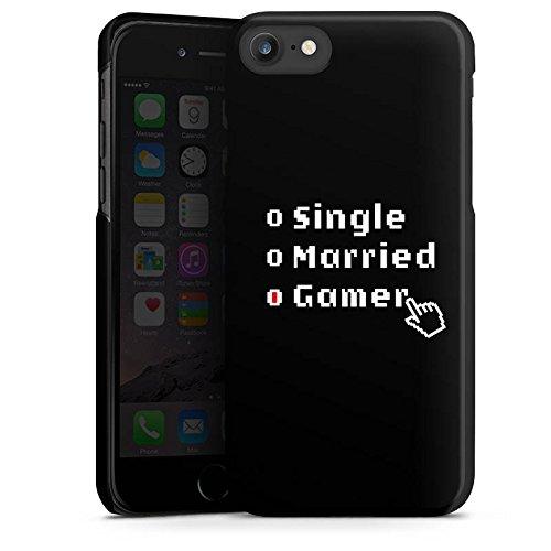 Apple iPhone X Silikon Hülle Case Schutzhülle Gamer Spruch Zocken Hard Case schwarz