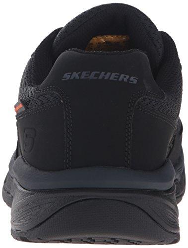 Skechers Work Men's Conroe Searcy Slip Resistant Work Shoe Black