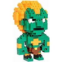 Paladone PP2385SF - Street Fighter Pixel Bricks Blanka