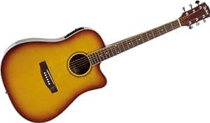 Jim Harley - Guitares folks electro acoustiques COLORADO EA DREAD SUNBURST