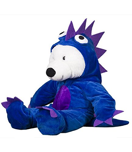Kostüm Dem Bett Monster Unter - Blau/Violett Monster Kostüm Teddy Bär Outfit (20,3cm)