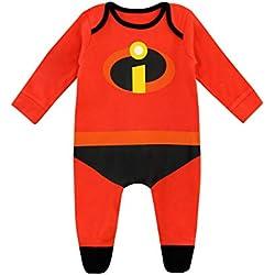 Disney - Dors Bien - The Incredibles - Bébé Garçon, Rouge, 12 - 18 Mois