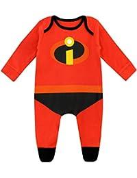 Disney Baby Jungen The Incredibles Schlafstrampler