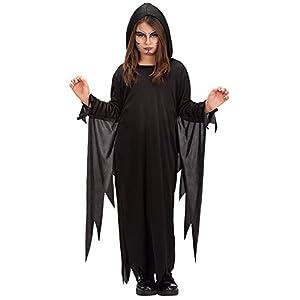 Carnival Toys 68615 - túnica, un tamaño, 8-13 años, Negro