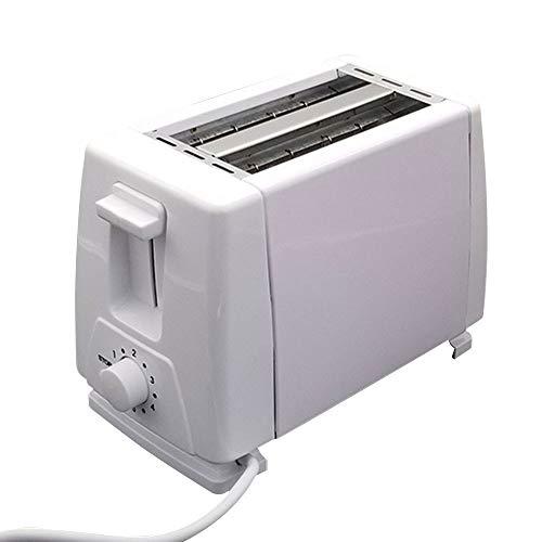 Multifunktionale Brot-Hersteller - Automatische Toaster, 6 Umschalten zwischen Frühstück Maker, Haushalt, elektrisch verstellbare Toaster, elektrische Küchenmaschine, ideal für Toast, Sandwich - weiß -