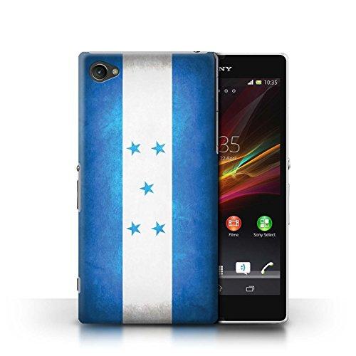 Kobalt® Imprimé Etui / Coque pour Sony Xperia Z1 Compact / Suède/suèdois conception / Série Drapeau Honduras